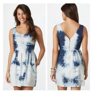 AEO. Tied Dyed dress with pockets.